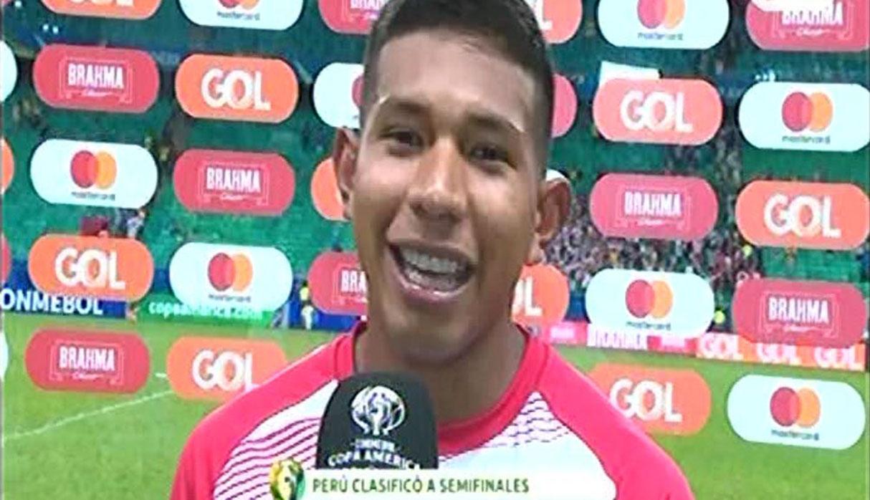 Perú vs. Uruguay: Edison Flores y sus palabras tras clasificar a semifinales de la Copa América | VIDEO