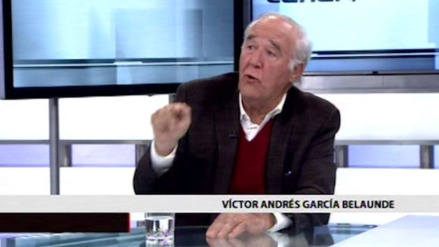 García Belaunde no descarta postular nuevamente a la presidencia del Congreso