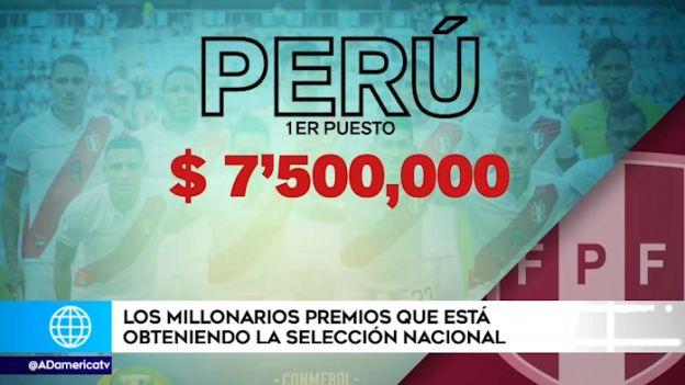 Perú vs. Chile: ¿cuántos millones recibirá Perú si logra clasificar a la final de la Copa América? | VIDEO