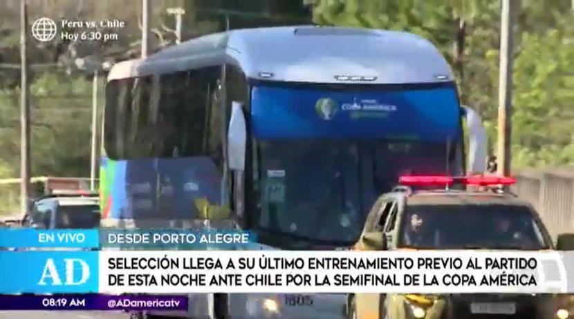 Perú vs. Chile: plantel realiza última práctica a horas de la semifinal de la Copa América 2019 | VIDEO