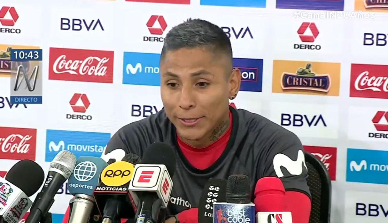 Raúl Ruidíaz bromea por su gol con la mano a la 'Canarinha' en 2016 | VIDEO
