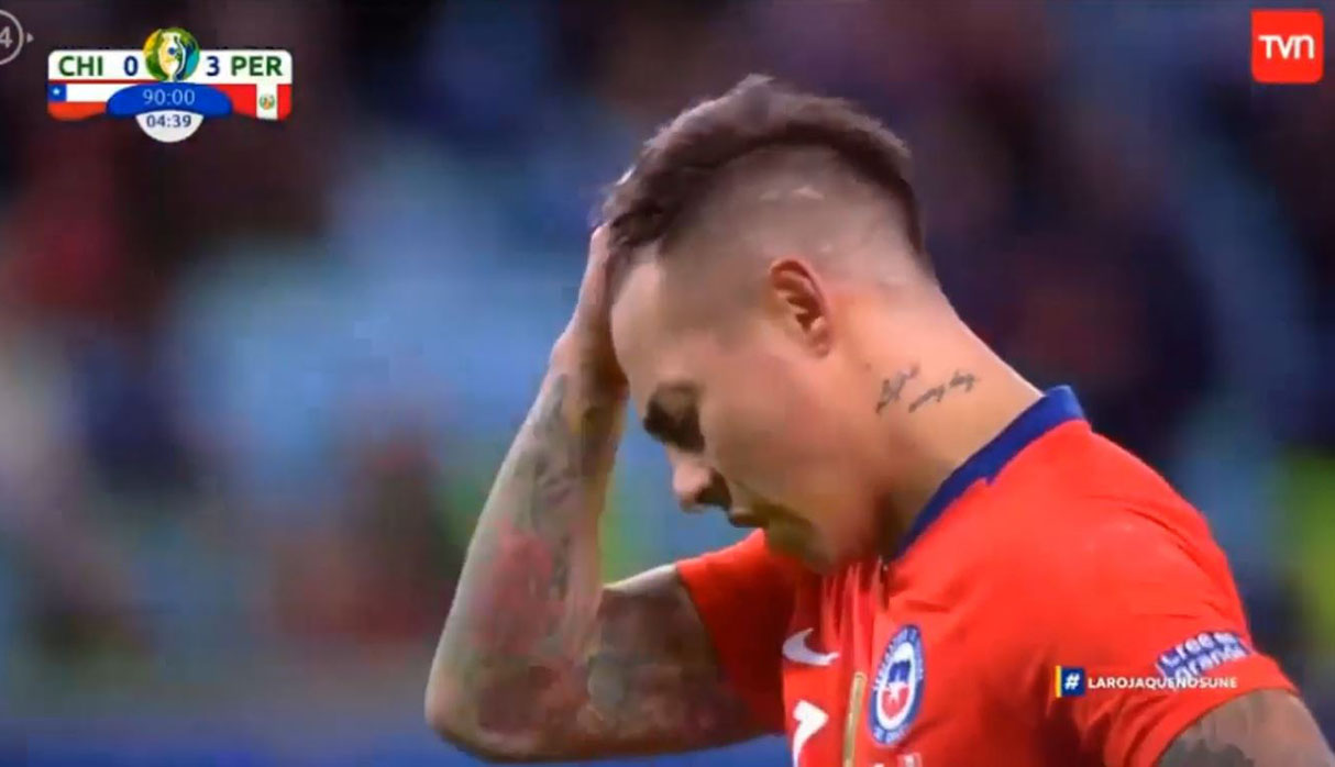 Perú vs. Chile: tristeza y bronca en narración chilena por penal de Eduardo Vargas | VIDEO