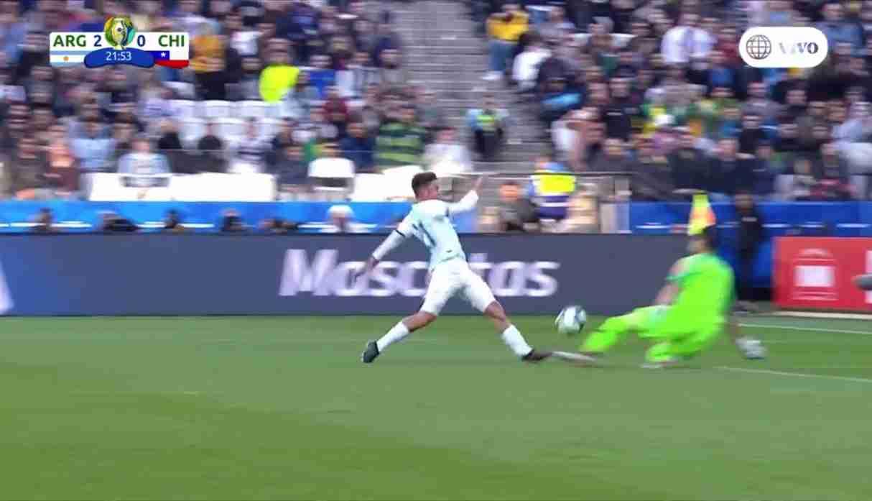 Argentina vs. Chile: así Paulo Dybala marcó el segundo gol en la definición por el tercer puesto | VIDEO