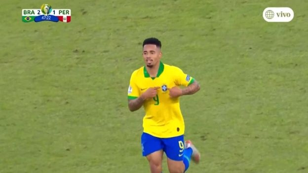 Perú vs. Brasil: Gabriel Jesus anotó el 2-1 en la final de la Copa América 2019 | VIDEO