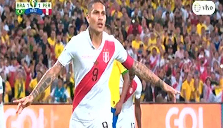 Perú vs. Brasil: gol de Paolo Guerrero rompió el invicto de Alisson en la Copa América | VIDEO