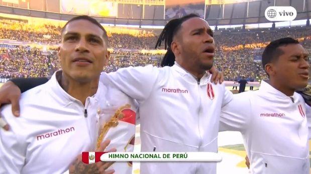 Perú vs. Brasil: emotiva entonación del himno nacional en la final de la Copa América 2019 | VIDEO