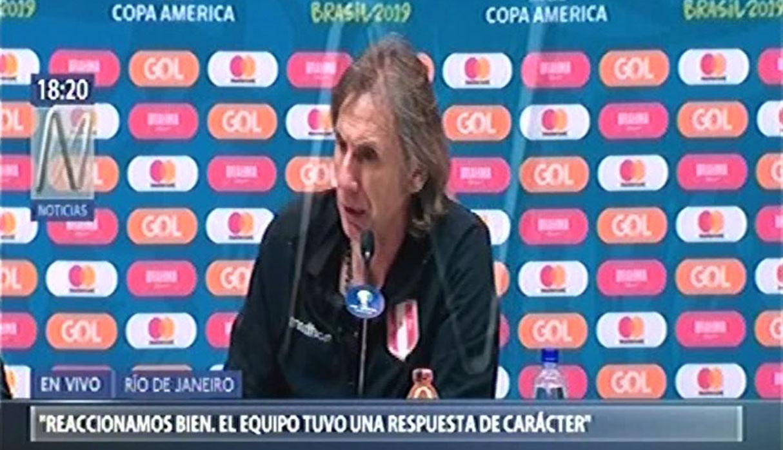 Perú vs. Brasil: Ricardo Gareca y sus impresiones tras perder final de Copa América | VIDEO