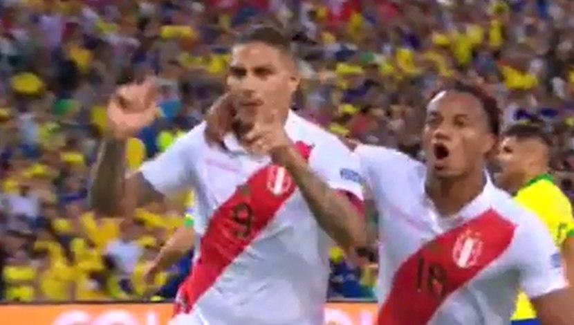 Perú vs. Brasil: narración brasileña del gol de Paolo Guerrero en la final de la Copa América 2019 | VIDEO
