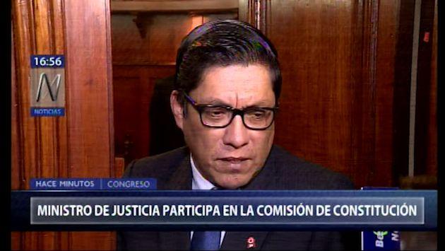 """Zeballos: """"Creo que se van a llegar a aprobar los proyectos de reforma política"""""""
