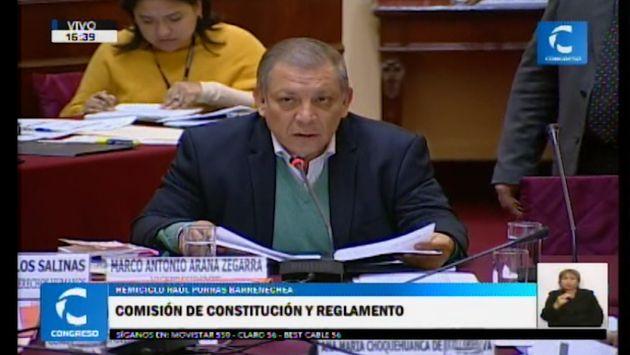 Comisión de Constitución: Salvador del Solar se excusó de participar en la sesión