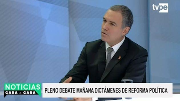 Salvador del Solar: 'No hay presos políticos en nuestro país'
