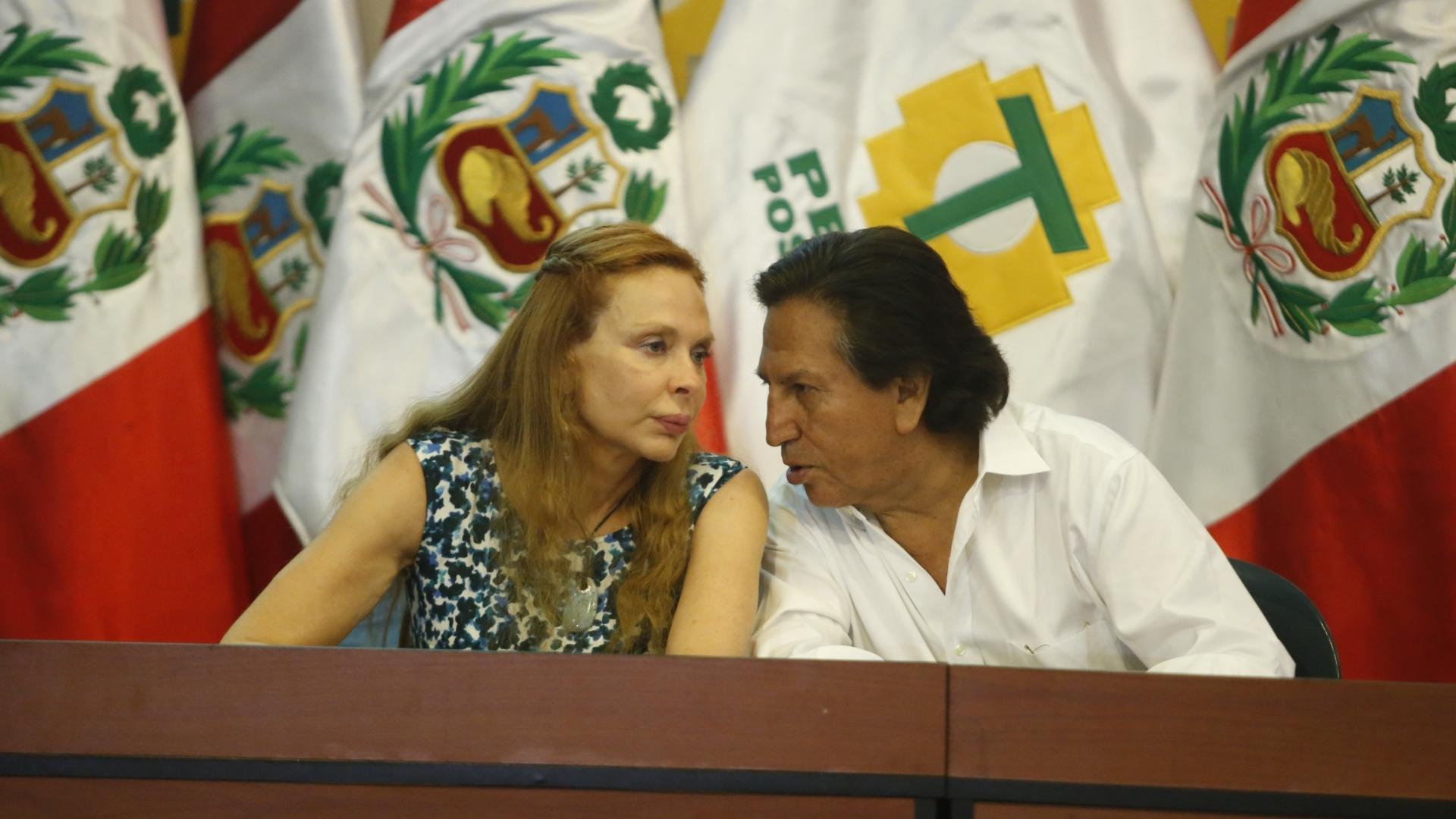 Eliane Karp evitó pronunciarse sobre situación de Alejandro Toledo