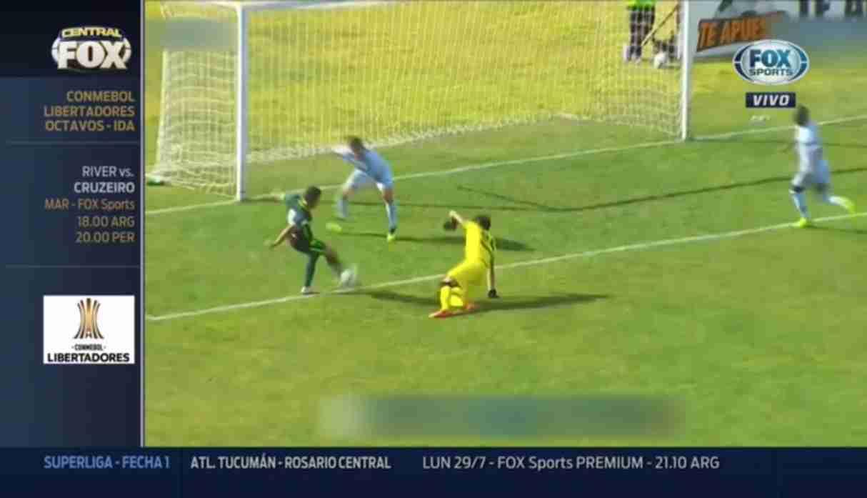 Fox Sports eligió gol de Pirata FC en la Liga 1 Clausura como el 'Mejor de la Semana'
