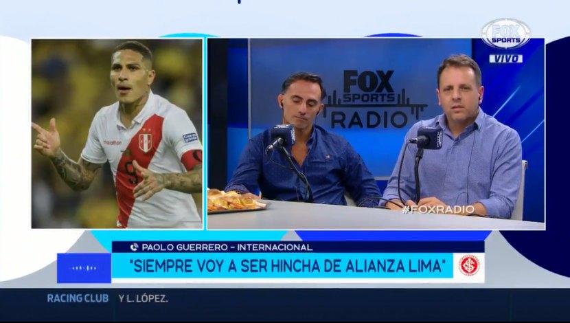 "Paolo Guerrero: ""Soy hincha acérrimo de Alianza Lima"" | VIDEO"