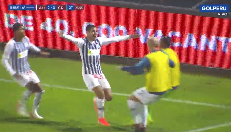 Alianza Lima vs. Sporting Cristal: gol de Balboa amplió triunfo blanquiazul | VIDEO NCZD