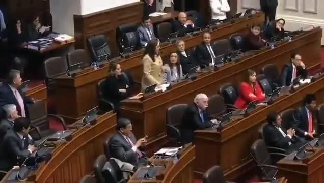 Congreso de la República: Daniel Salaverry dejó con la palabra en la boca a Rosa Bartra | VIDEO