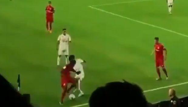 Takefusa Kubo se luce con espectacular 'huacha' en su debut con Real Madrid | VIDEO NCZD