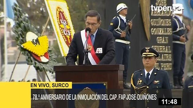 Martín Vizcarra: Estas fiestas deben encontrarnos unidos frente a los enemigos del Perú