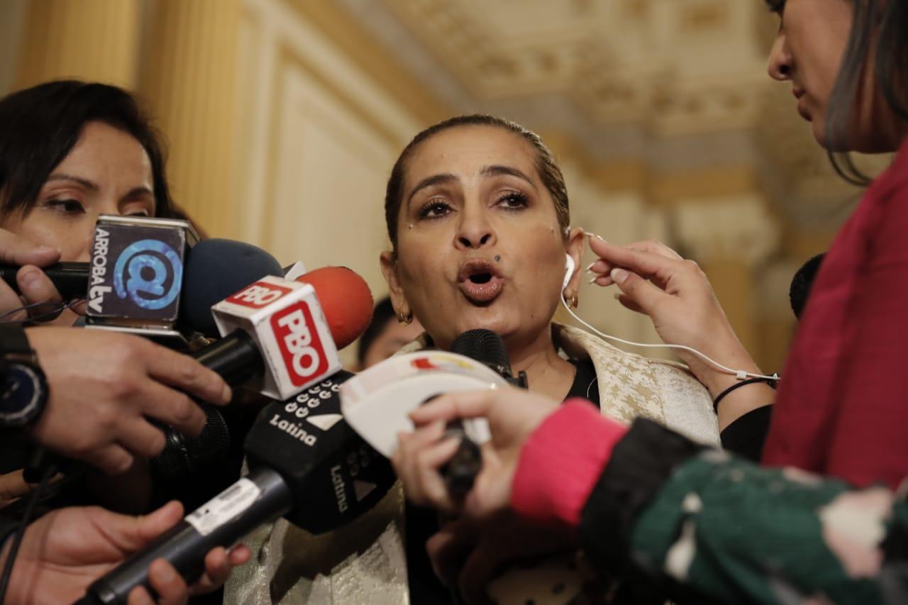García: Invitamos a Salaverry para evitar que cree una nueva bancada y genere mayor gasto