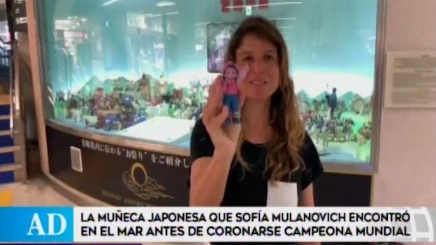 Sofía Mulanovich encuentra amuleto que permitió coronarse campeona mundial