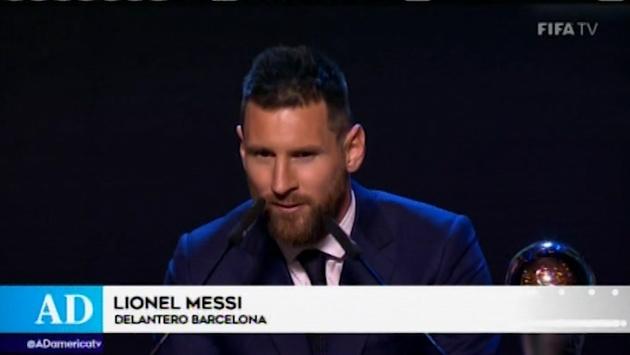 Lionel Messi ganó el premio The Best al mejor jugador de la FIFA