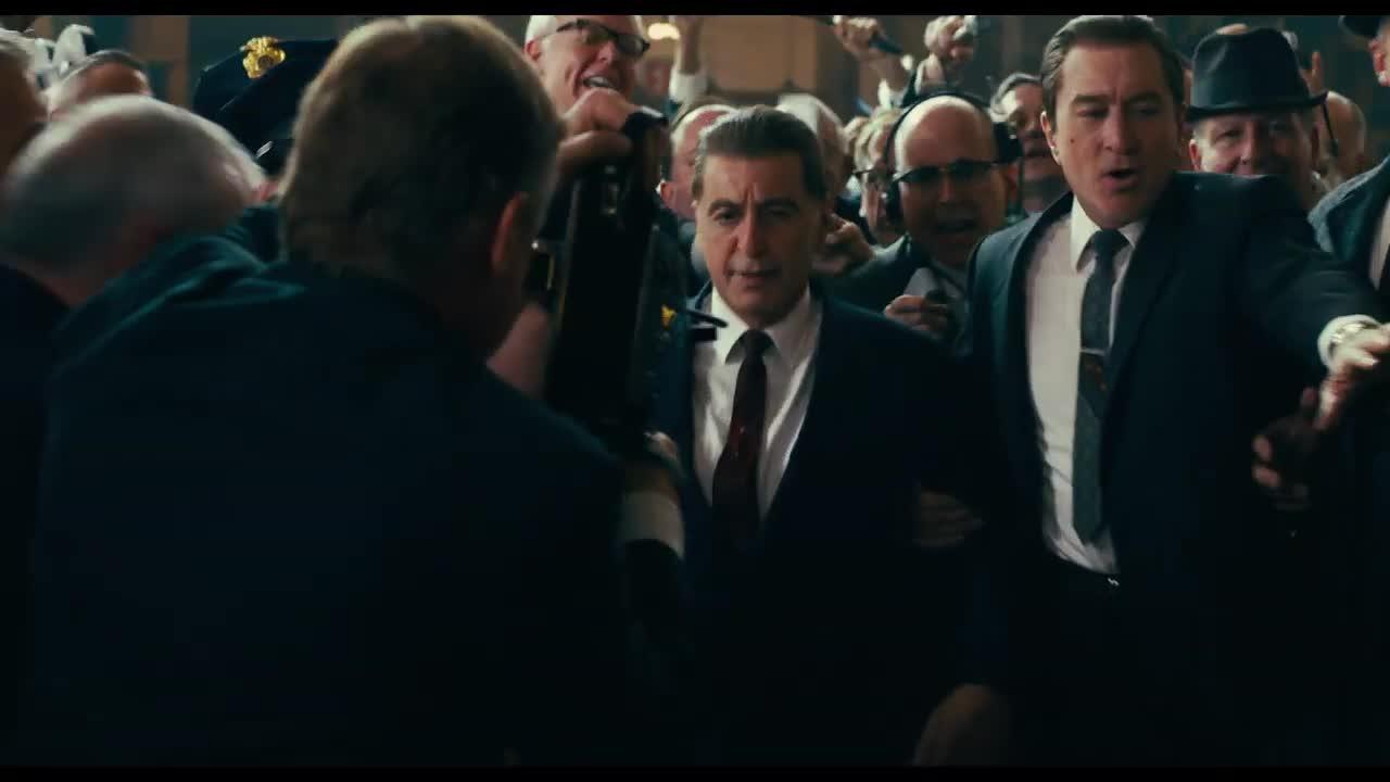 ¡Mira aquí el tráiler oficial de 'The Irishman' con Al Pacino y Robert De Niro!
