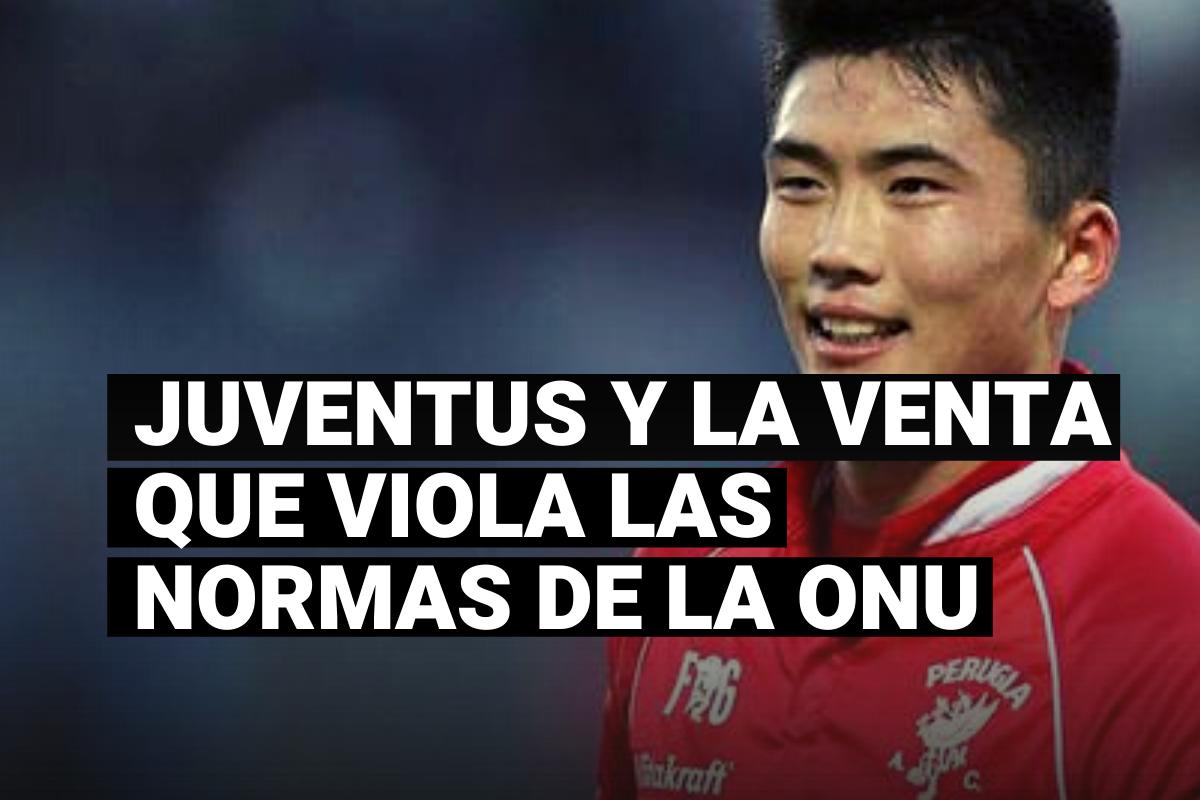 Conoce la venta de la Juventus que violó normativas de la ONU