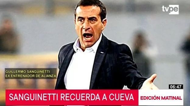 "Guillermo Sanguinetti: ""Christian Cueva discutió conmigo"""