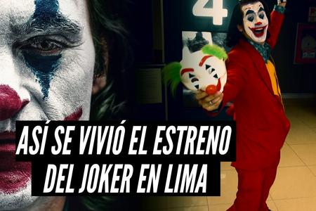Joker: Así vivieron los fans el estreno de la tan esperada cinta interpretada por Joaquín Phoenix