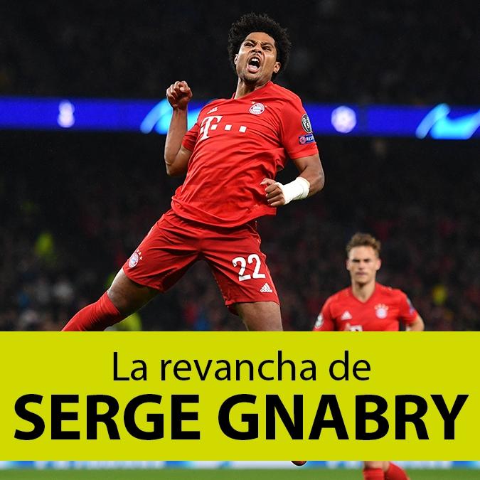 Serge Gnabry: el extremo que pasó de no servir en la Premier League a romperla en Bayern Munich
