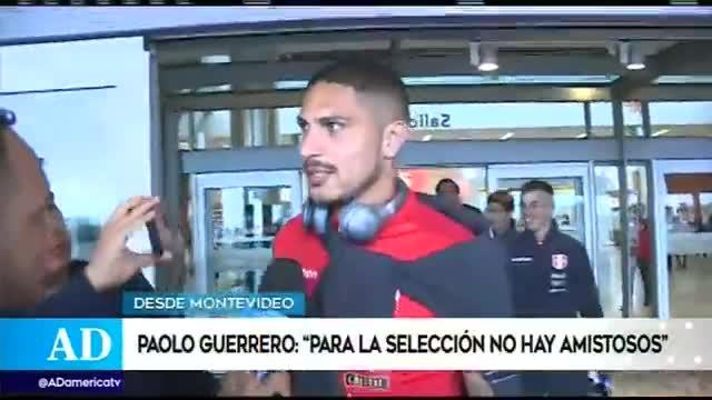 Perú vs Uruguay: Paolo Guerrero asegura sentirse apto para enfrentar a los 'charrúas'
