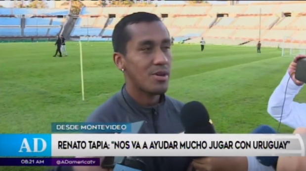 Renato Tapia estima duro encuentro ante Uruguay pese a tener ausencias
