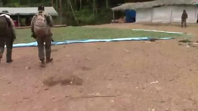 Madre de Dios: destruyen 41 campamentos de minería ilegal y pozas de maceración de hoja de coca | VIDEO