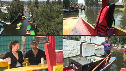 Los jardines lacustres de Xochimilco en México se ahogan sin turistas