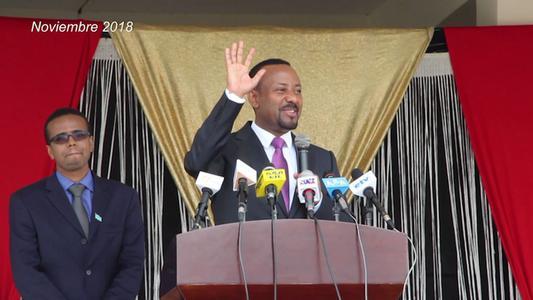Primer ministro etíope Abiy Ahmed recibe el premio Nobel de la Paz 2019