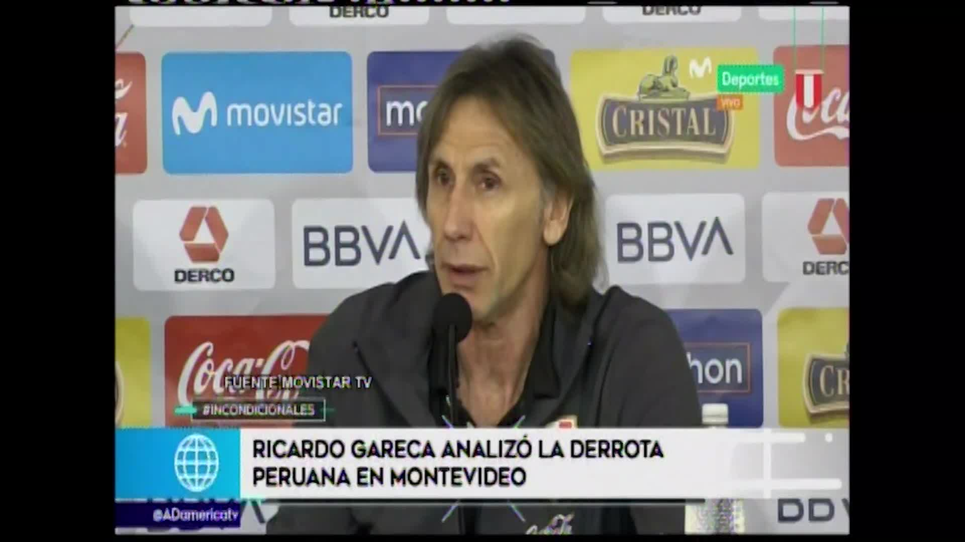Así analizó Ricardo Gareca el partido de la Selección Peruana