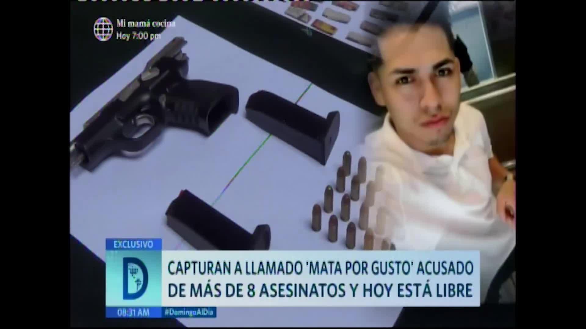 Los Olivos: sicario acusado de más de 8 asesinatos se encuentra libre
