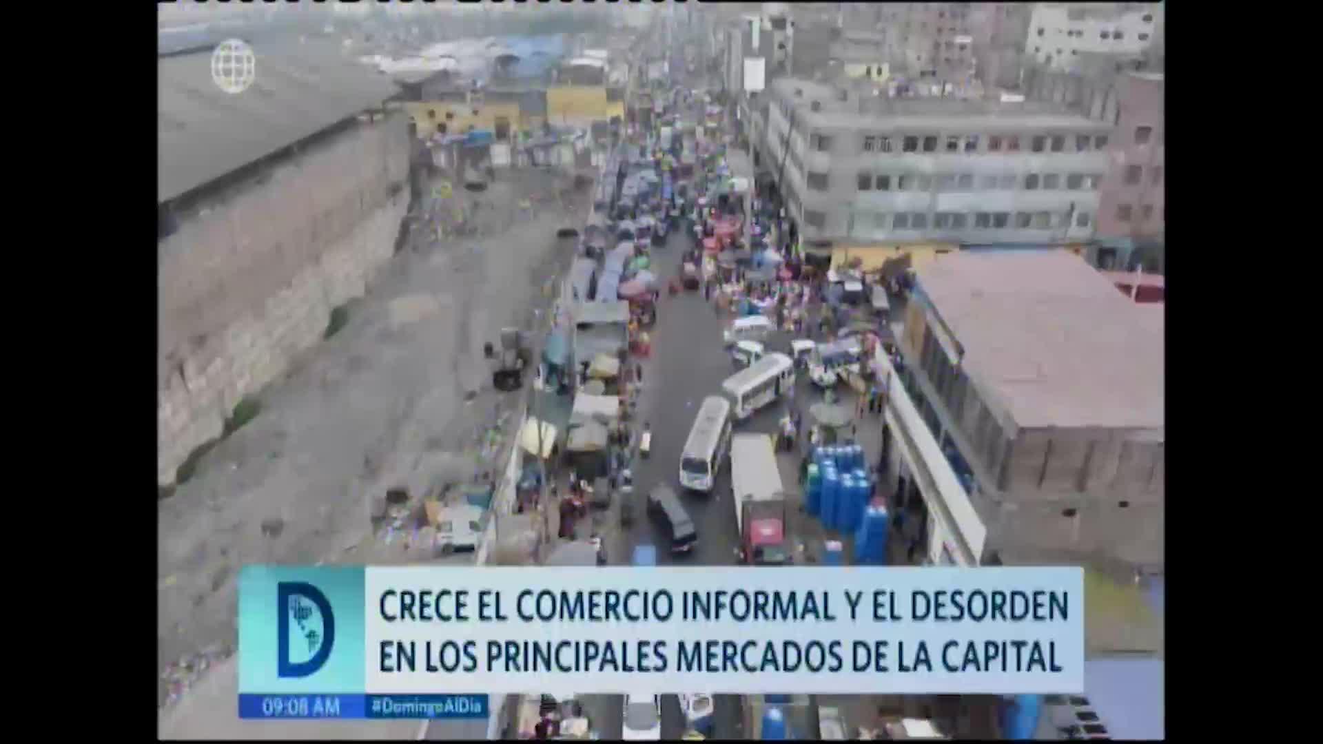 Así se da el aumento del comercio informal en las calles limeñas