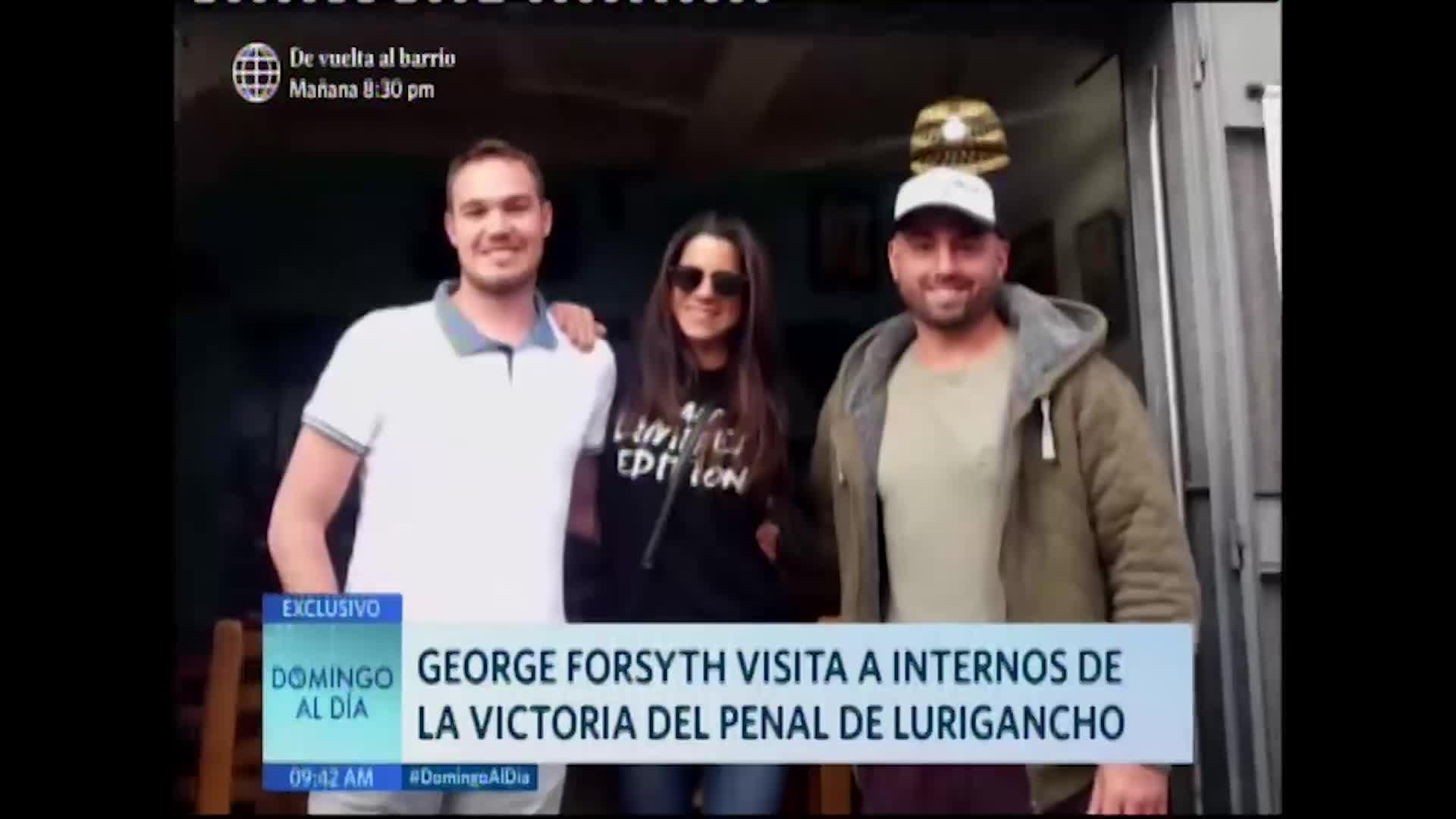 George Forsyth habla sobre su aún esposa Vanessa Terkes