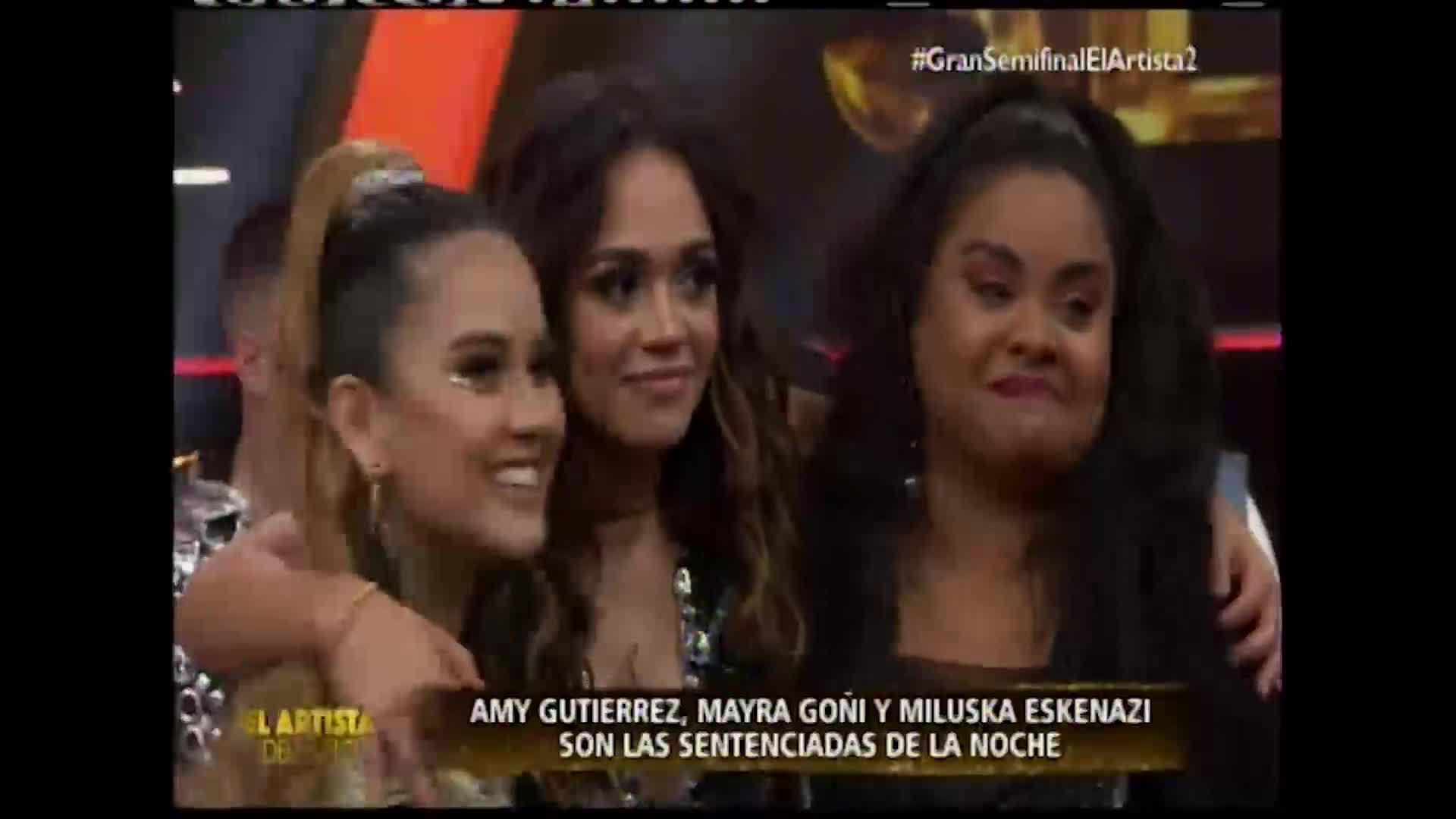 """Mayra Goñi, Amy G y Miluska Eskenazi son las sentenciadas en """"El artista del año"""""""