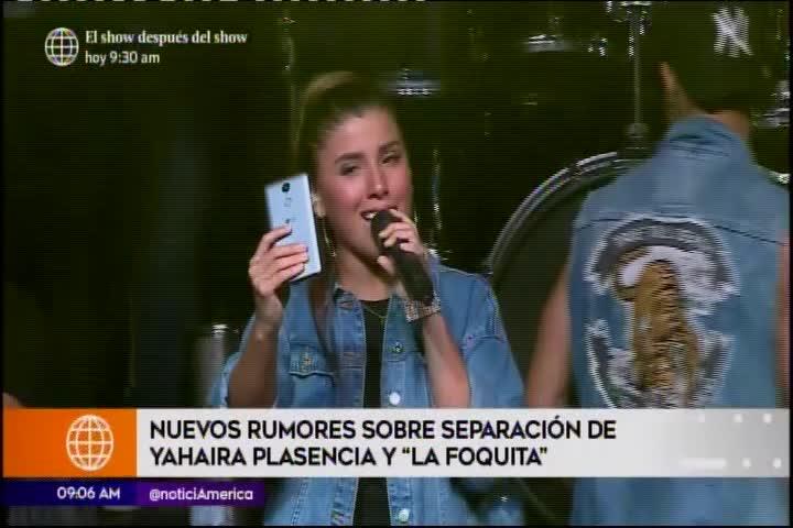 Yahaira Plasencia trata de no encontrarse con ex compañeras de Son Tentación