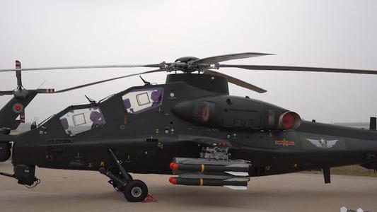China: Presentan helicóptero CAIC Z-10 con múltiples capacidad de combate