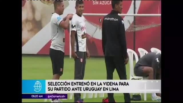 Perú alista la revancha ante Uruguay
