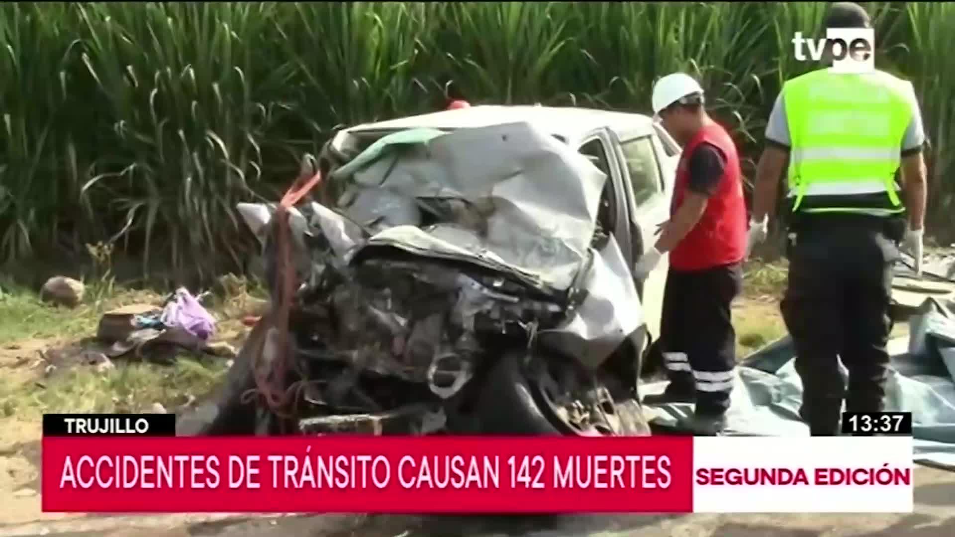 Accidentes de tránsito en Trujillo alcanzan cifras alarmantes