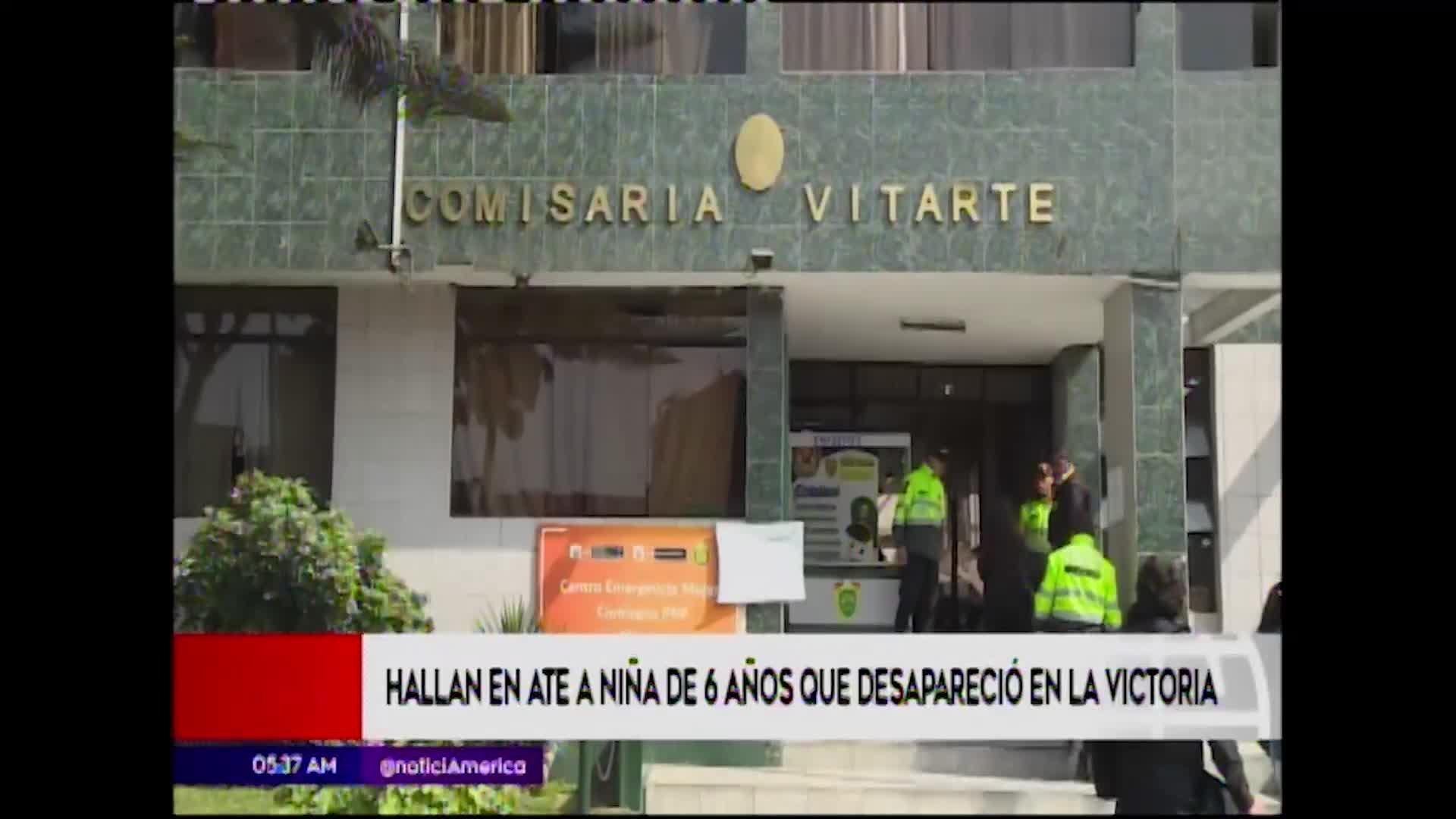 Ate: hallan a niña de 6 años reportada como desaparecida