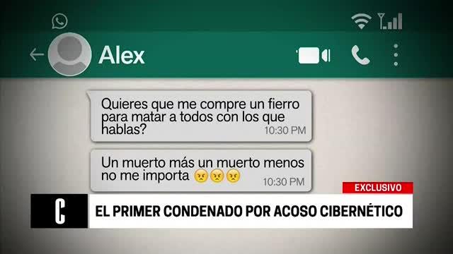 Primer condenado por acoso cibernético en el Perú