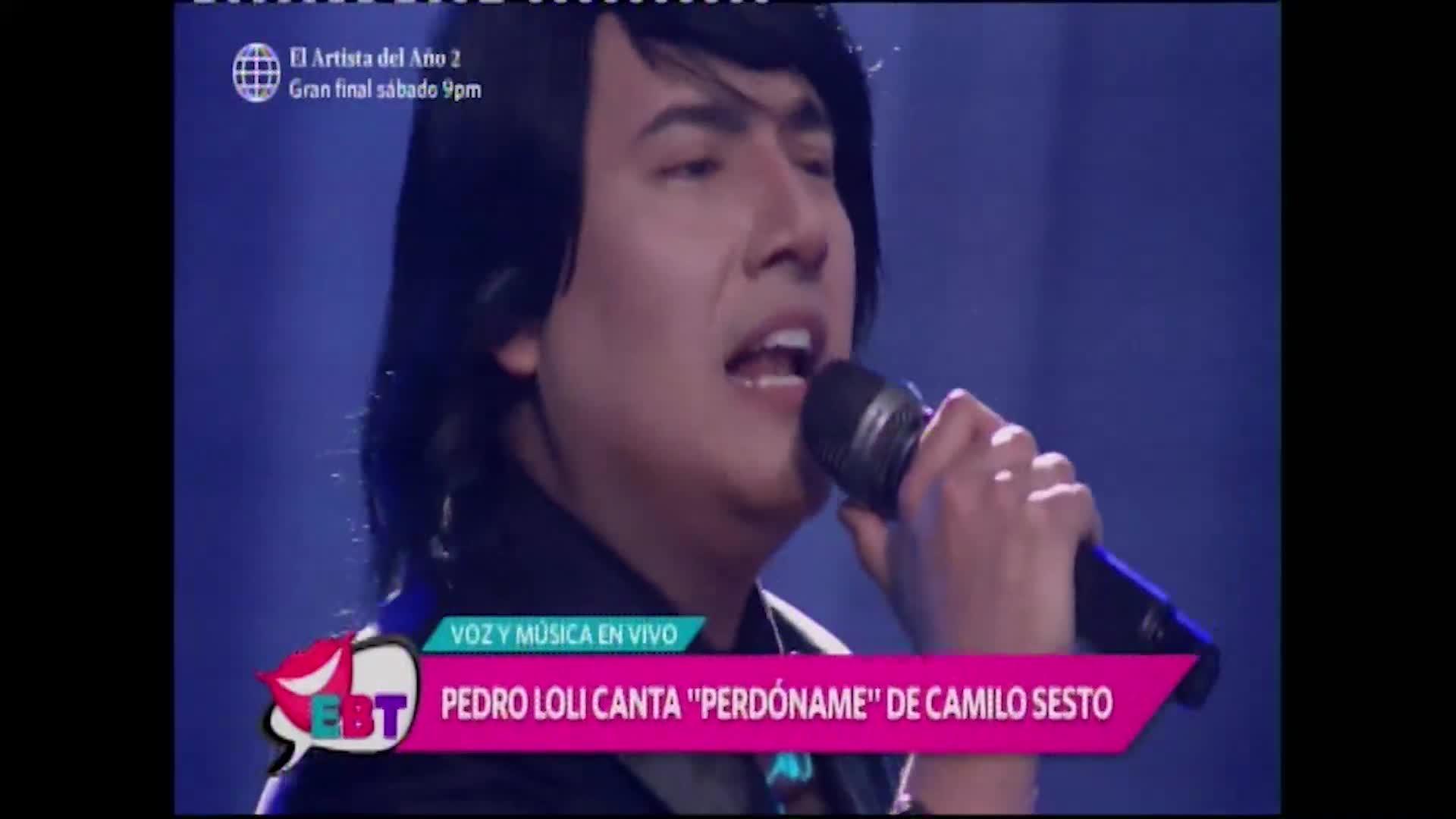 Pedro Loli sorprende con su interpretación de Camilo Sesto