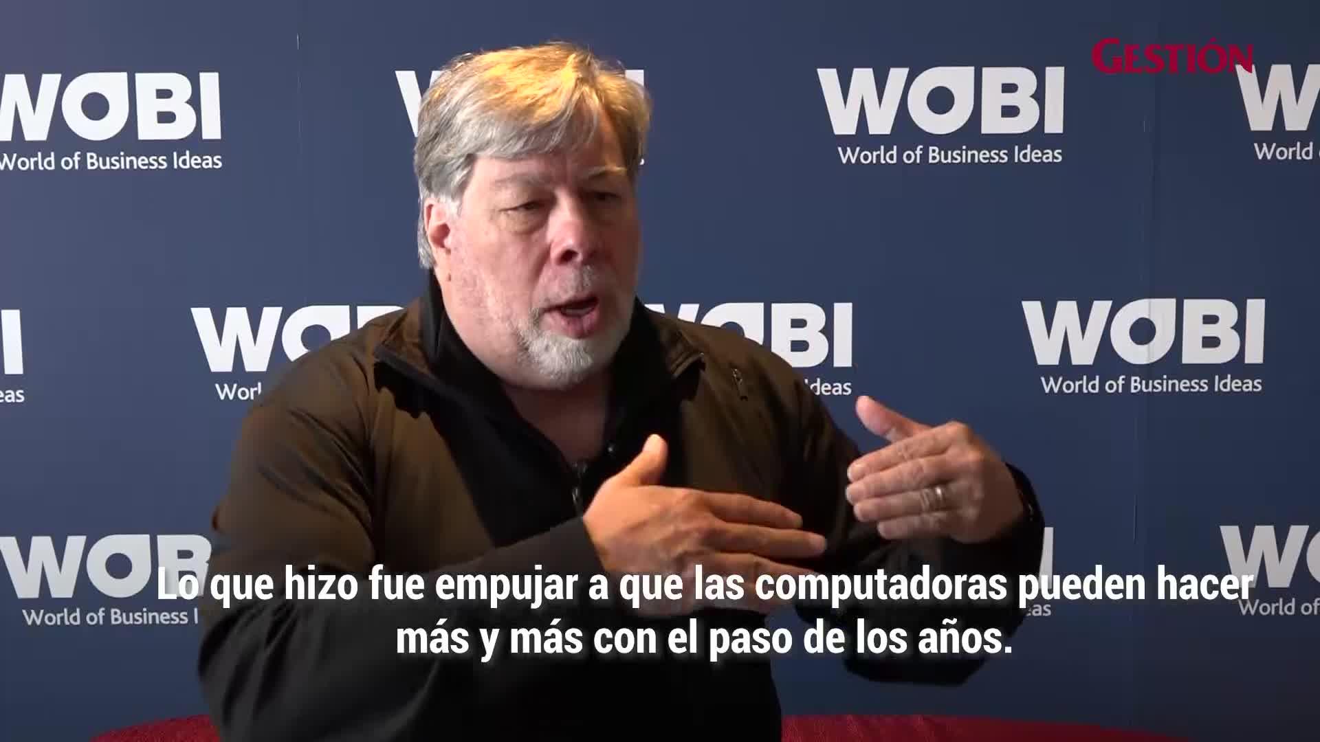 Steve Wozniak, cofundador de Apple, responde a Gestión sobre las nuevas tendencias en tecnologías disruptivas
