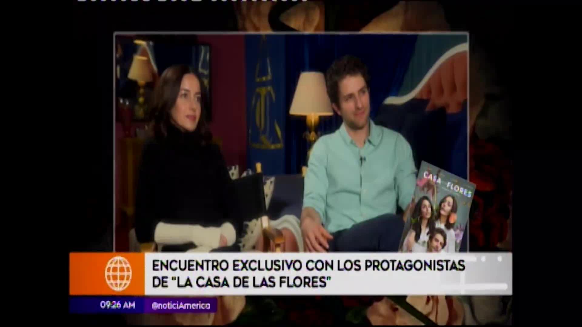 """Entrevista exclusiva con los personajes de la serie de Netflix """"La casa de las flores"""""""