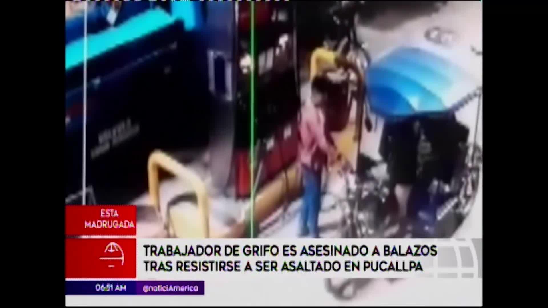 Pucallpa: asesinan a trabajador de grifo por resistirse a robo